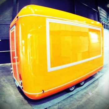 Catering trailers, modern line, XPS