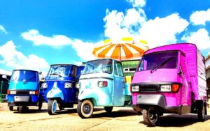piaggio ape 2 orig 300x188 - Gallery Ice-Cream, Gelato, Sweets & Coffee