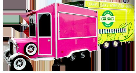 Vintage food trucks